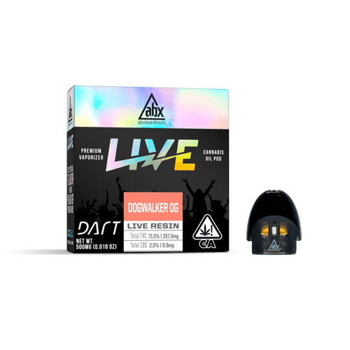 Abx Live Resin Dart Pods