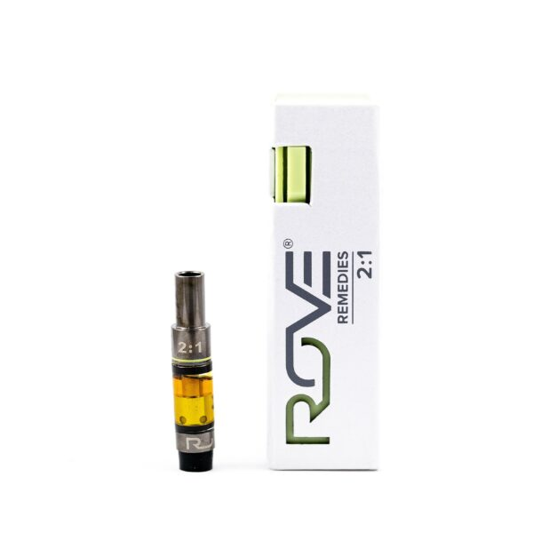 Remedies 2-1 CBD Cartridge