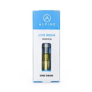 Alpine Vapor True OG Live Resin Cartridge 1g