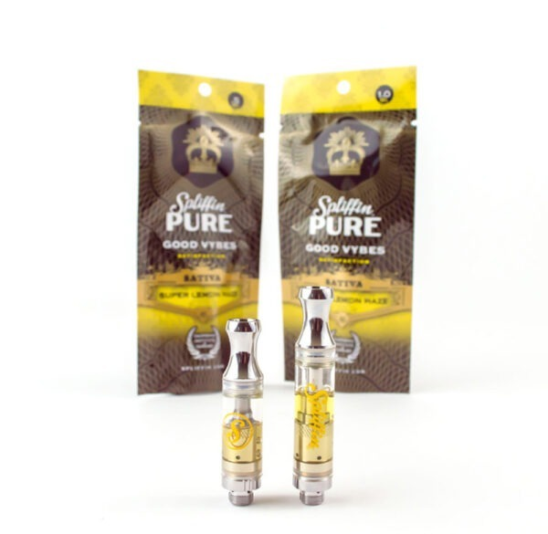 Spliffin Pure THC Cartridges