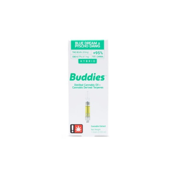 Buddies CBD Critical Cookies Distillate Cartridge 1g