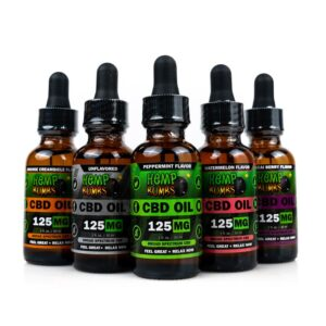 Hempbombs 125mg CBD Oil