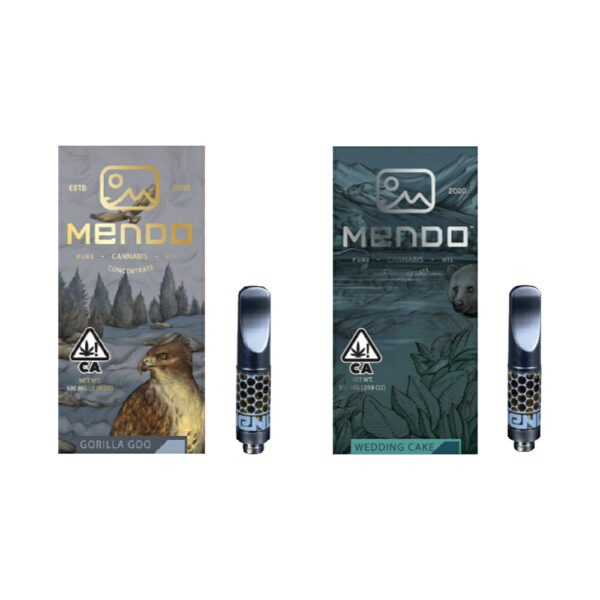 MendoGrown's Vape Cartridges
