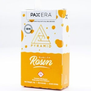 Pyramid Rosin Pax Era Pods